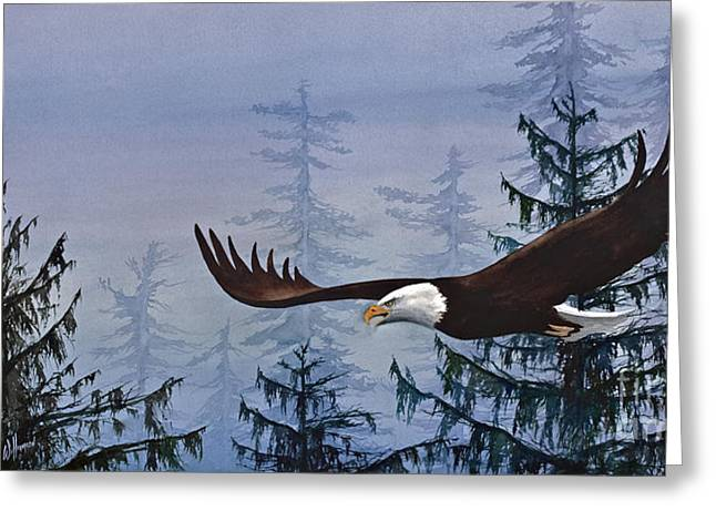 Eagle Images Greeting Cards - Eagles Freedom Greeting Card by James Williamson