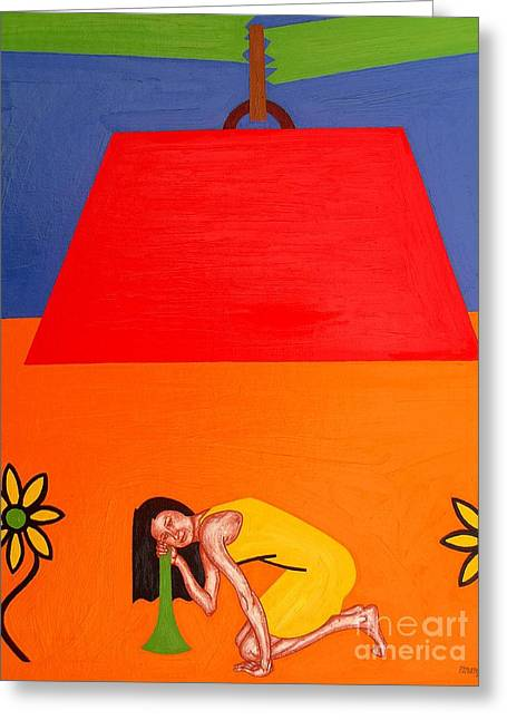 Ear To The Ground Greeting Card by Patrick J Murphy