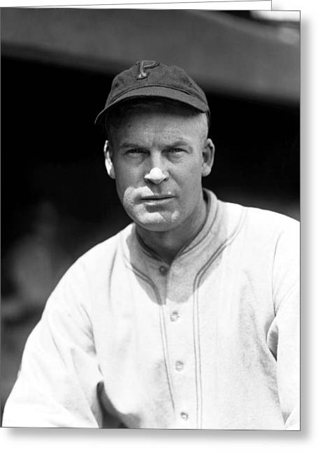 Pittsburgh Pirates Photographs Greeting Cards - Earl H. Sheely Greeting Card by Retro Images Archive