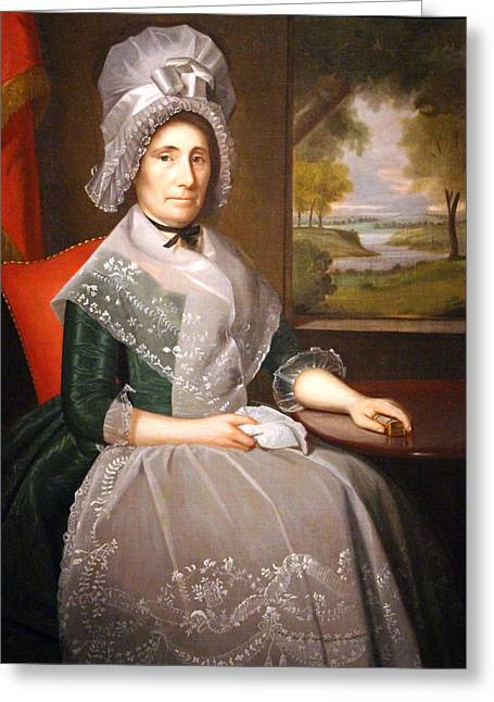 Worcester Art Museum Greeting Cards - Earls Mrs. Richard Alsop Greeting Card by Cora Wandel