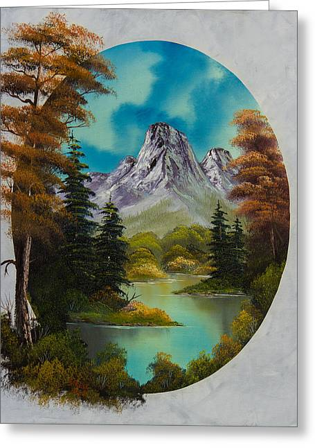 Bob Ross Paintings Greeting Cards - Russet Autumn  Greeting Card by C Steele
