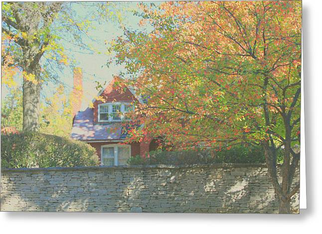 Indiana Autumn Greeting Cards - Early Autumn Home Greeting Card by Andrea Lynch