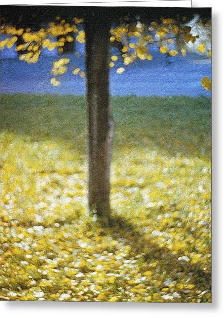 Igor Baranov Greeting Cards - Early Autumn Greeting Card by Igor Baranov
