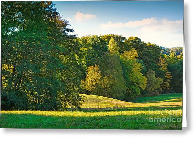 Late-summer Greeting Cards - Early Autumn Greeting Card by Lutz Baar