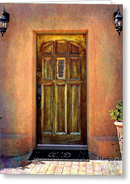 Historic Home Greeting Cards - Early Evening Glow Greeting Card by Barbara Chichester