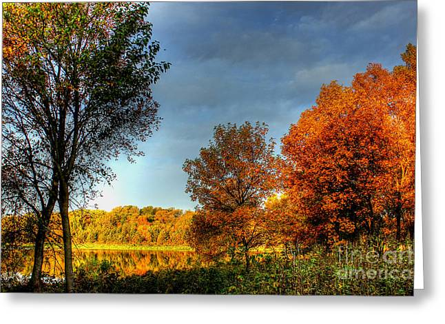 Refelctions Greeting Cards - Early Light Greeting Card by Thomas Danilovich