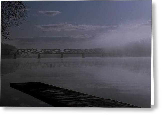 Connecticut River Greeting Cards - Early Morning Greeting Card by Andrea Galiffi