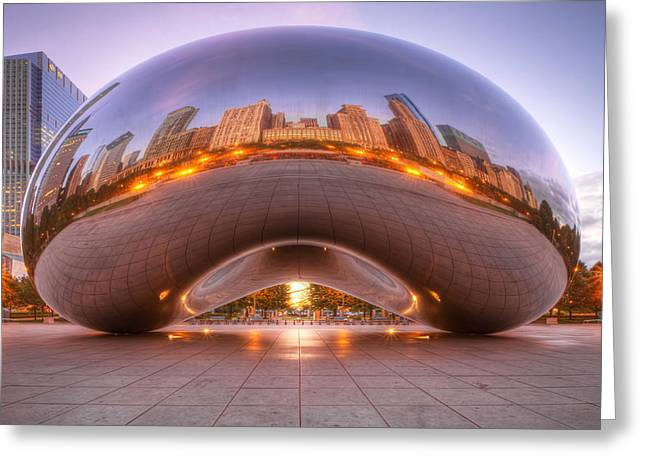 The Bean Greeting Cards - Early Morning Bean Greeting Card by Lindley Johnson
