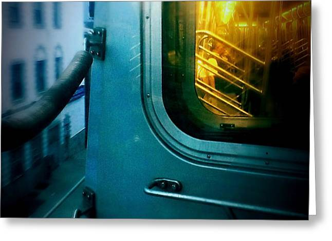 Early Morning Commute Greeting Card by James Aiken