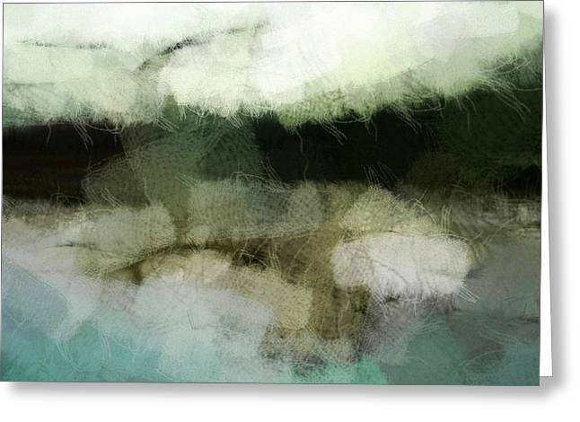 Abstract Seascape Digital Greeting Cards - Early morning flight Greeting Card by Gun Legler
