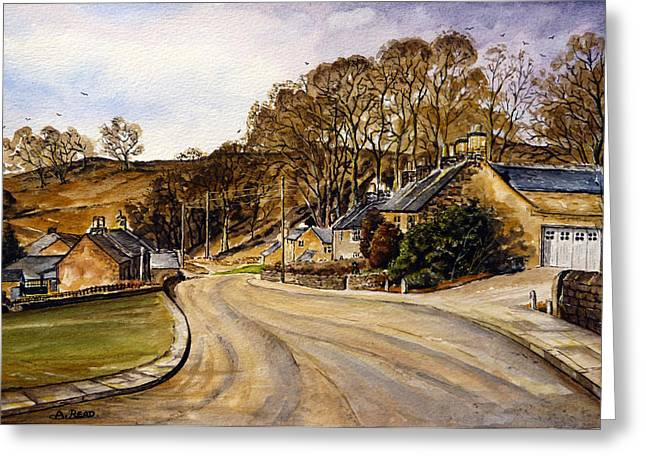 Stafford Greeting Cards - Early Morning In The Countryside Greeting Card by Andrew Read