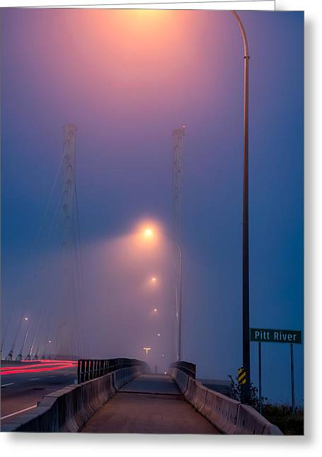 Illuminate Greeting Cards - Early Morning Lamps Greeting Card by James Wheeler