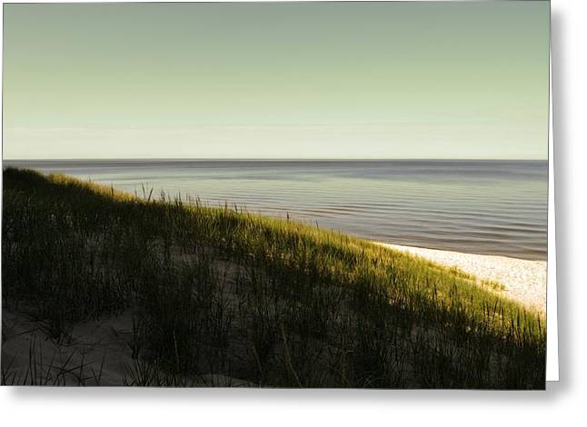 Seaside Digital Greeting Cards - Early Morning Light Greeting Card by Michelle Calkins