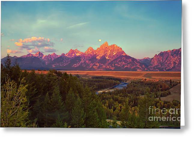 Outlook Greeting Cards - Early Morning Light Greeting Card by Robert Bales