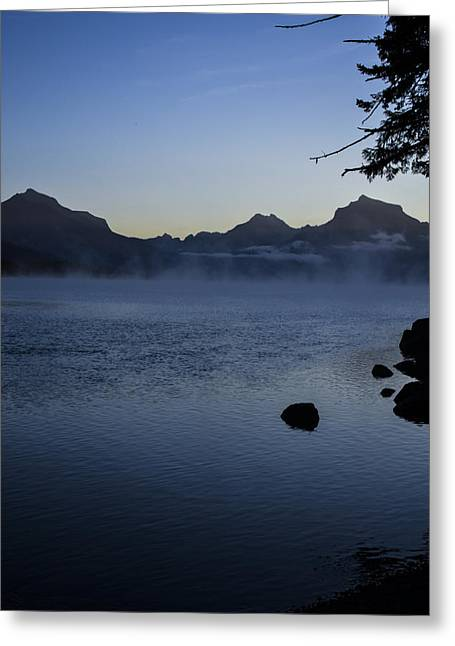 Apgar Greeting Cards - Early Morning Greeting Card by Nick Garner