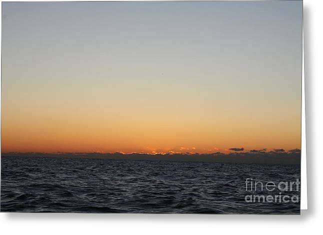 Sun Behind Clouds Greeting Cards - Early Morning Winter Sunrise  Greeting Card by John Telfer