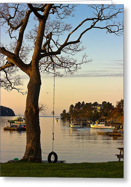 Harpswell Greeting Cards - Early One Morning Greeting Card by Benjamin Williamson