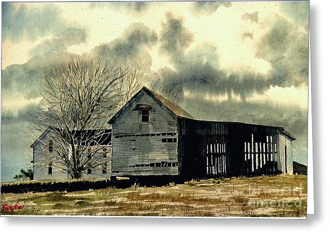 Tin Roof Greeting Cards - Early Spring Greeting Card by Gerald Bienvenu