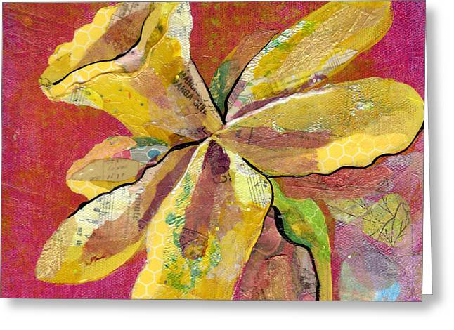 Orchid Greeting Cards - Early Spring II Daffodil Series Greeting Card by Shadia Zayed