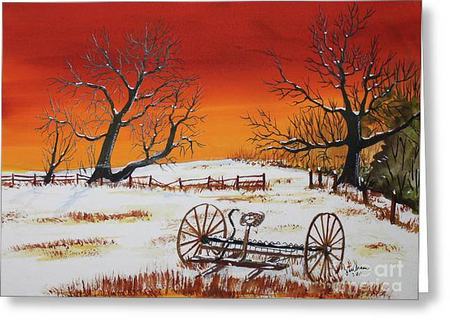 Early Spring Greeting Card by Jack G  Brauer