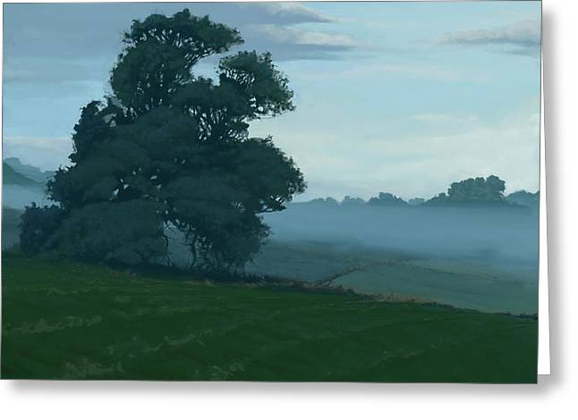 Fod Greeting Cards - Early Summer Morning Greeting Card by Joe Ambrose