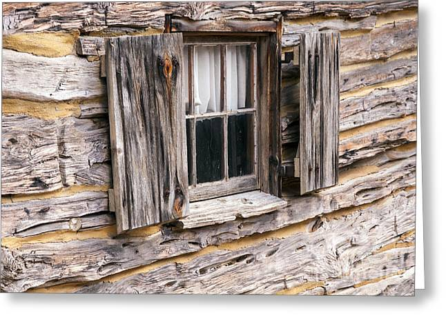 Wimberley Greeting Cards - Early Texan Cabin Greeting Card by Bob Phillips
