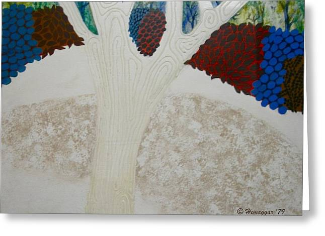 Winter Promise Greeting Cards - Early Winter Greeting Card by Hemu Aggarwal