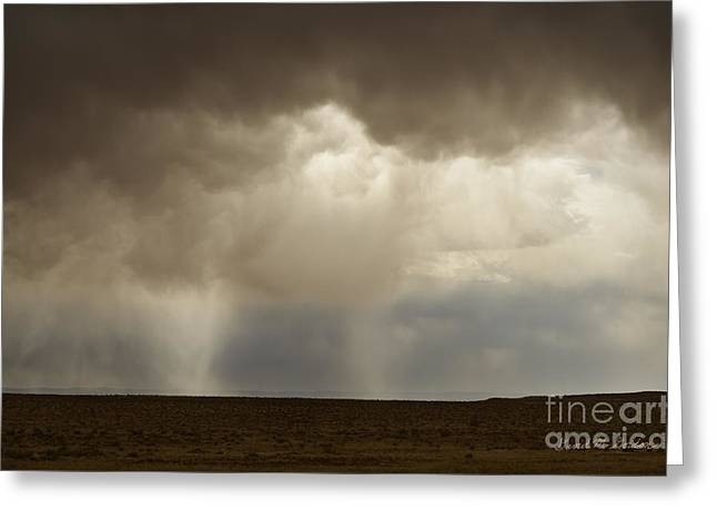 Chromatic Greeting Cards - Earth and Clouds New Mexico Greeting Card by David Gordon