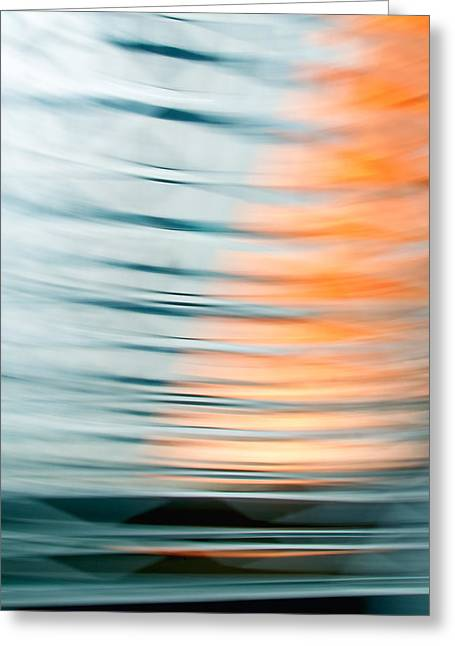 Cheap Abstract Art Greeting Cards - Earth Dimensions - Abstract Art Greeting Card by Laria Saunders