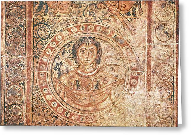 Earth Goddess Gaea, C730 Greeting Card by Granger