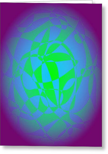 Gradations Digital Art Greeting Cards - Earth Greeting Card by Masaaki Kimura
