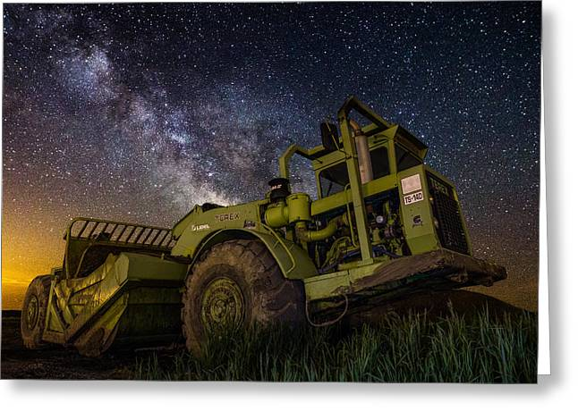 Earth Movers Greeting Cards - Earth Mover Greeting Card by Aaron J Groen