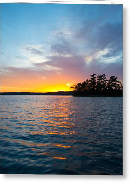 Tropical Island Greeting Cards - Earth Sky and Water Greeting Card by Parker Cunningham