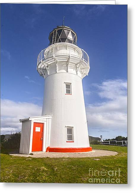 New Zealand Photographs Greeting Cards - East Cape Lighthouse New Zealand Greeting Card by Colin and Linda McKie