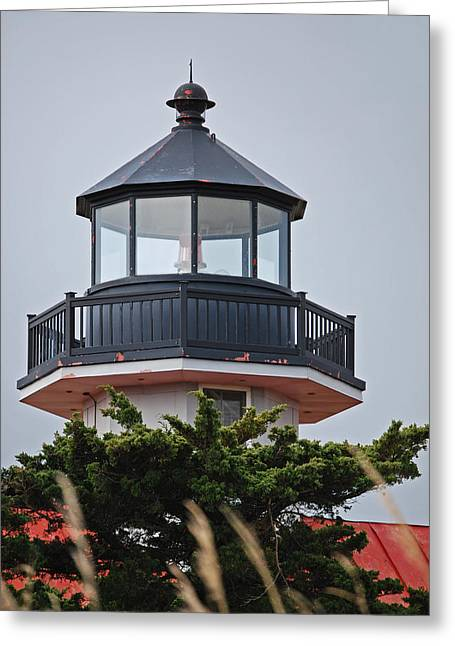 Light Beacon Greeting Cards - East Point Light Room Greeting Card by Skip Willits