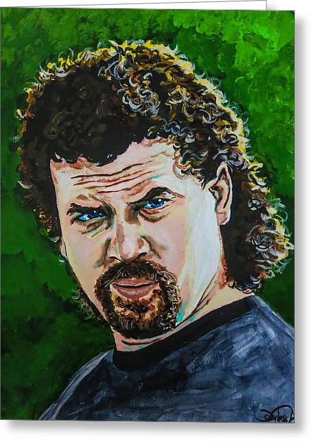 Eastbound And Down Greeting Card by Joel Tesch