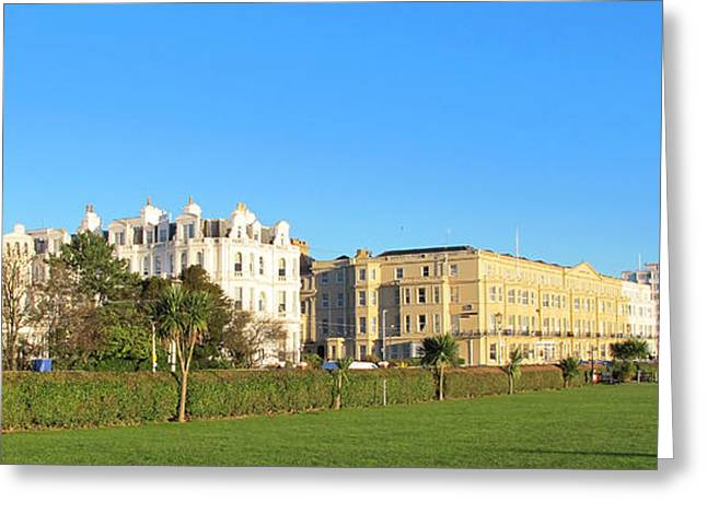 Art Photography Greeting Cards - Eastbourne Panorama Greeting Card by Art Photography