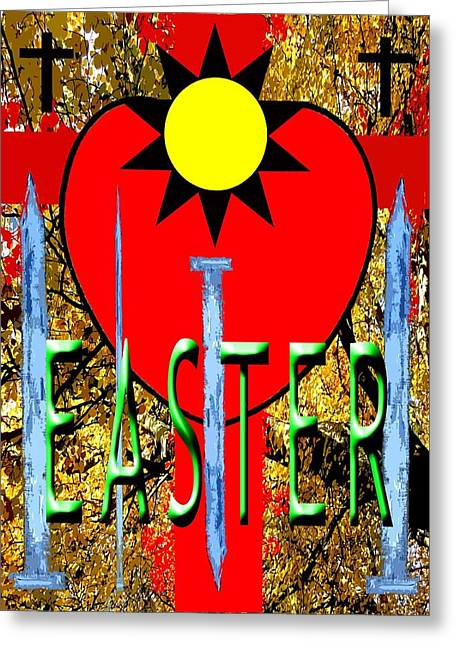 Tablets Greeting Cards - Easter 10 Greeting Card by Patrick J Murphy