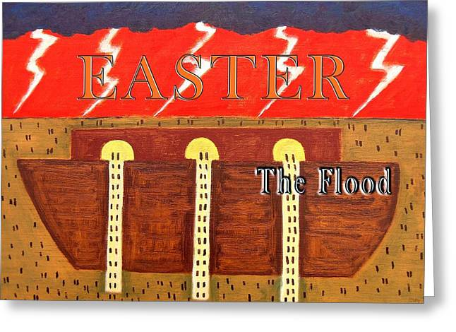 Tablets Greeting Cards - Easter 14 Greeting Card by Patrick J Murphy