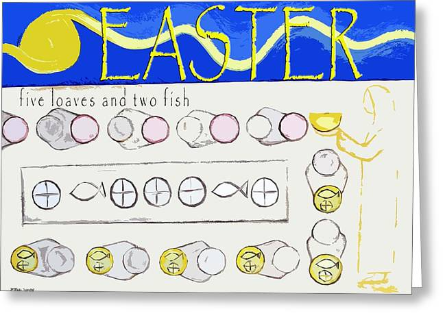 Gospel Greeting Cards - Easter 17 Greeting Card by Patrick J Murphy