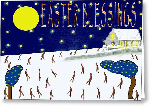 Tablets Greeting Cards - Easter 3 Greeting Card by Patrick J Murphy