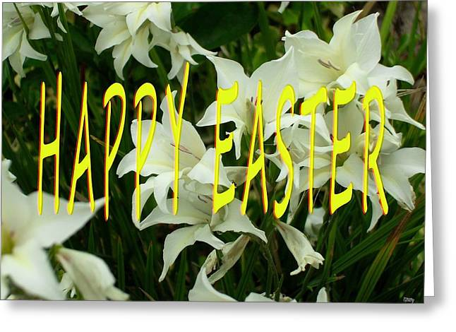Religious Mixed Media Greeting Cards - Easter 51 Greeting Card by Patrick J Murphy