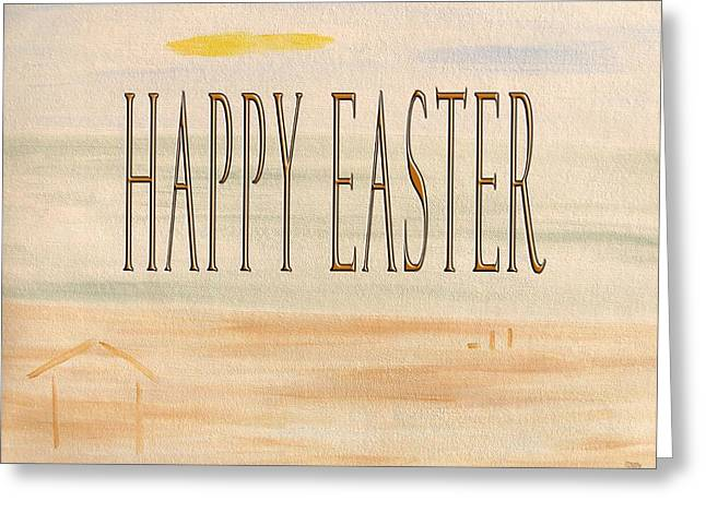 Dog Beach Card Greeting Cards - Easter 57 Greeting Card by Patrick J Murphy