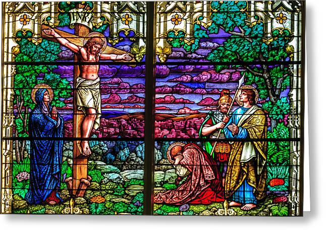 Crucifixtion Greeting Cards - Easter Card Greeting Card by Mike Penney