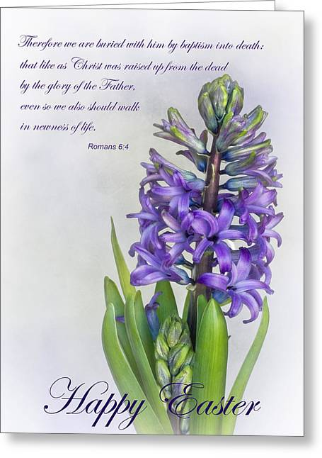 Bible Greeting Cards - Easter Greeting Card by David and Carol Kelly