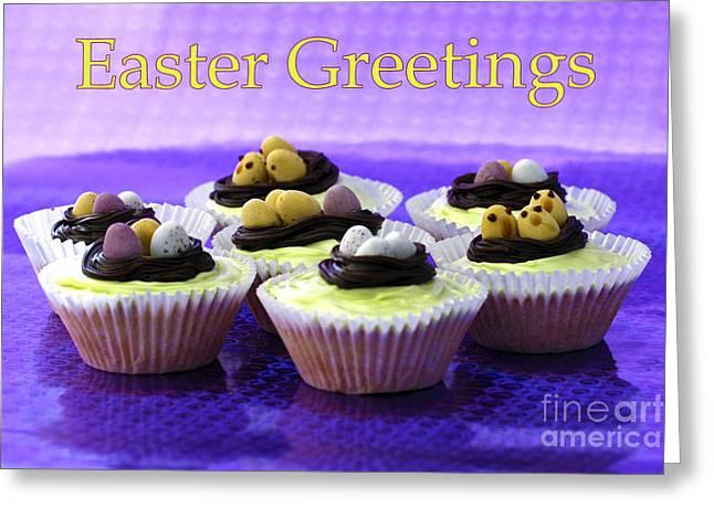 Terri Waters Greeting Cards - Easter Greetings Greeting Card by Terri  Waters