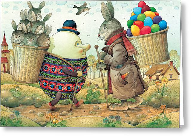 Easter Egg Greeting Cards - Eastereggs 03 Greeting Card by Kestutis Kasparavicius