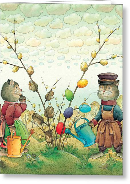 Easter Egg Greeting Cards - Eastereggs 05 Greeting Card by Kestutis Kasparavicius