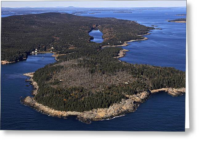 Haut Greeting Cards - Eastern Head And Head Harbor, Isle Au Greeting Card by Dave Cleaveland