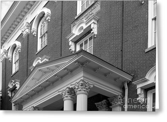 Eastern Kentucky University Crabbe Library Detail Greeting Card by University Icons
